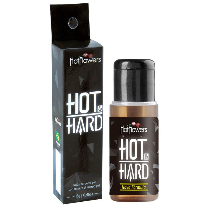 HOT HARD EXCITANTE MASCULINO 13GR HOT FLOWERS