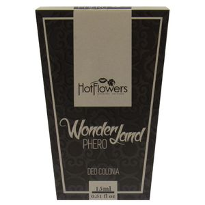 DEO COLONIA WONDERLAND PHERO 15ML HOT FLOWERS