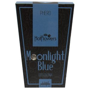 DEO COLONIA MOONLINGHT BLUE 15ML HOT FLOWERS