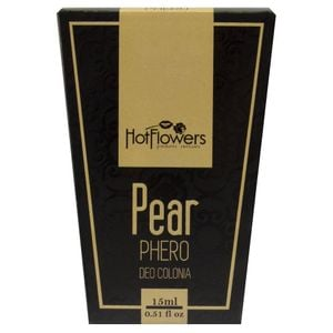 DEO COLONIA PEAR PHERO 15ML HOT FLOWERS