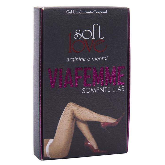 VIAFEMME SUPER EXCITANTE FEMININO 6GR SOFT LOVE