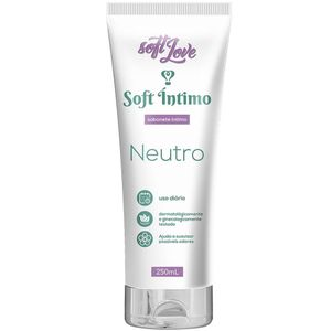 SABONETE SOFT NEUTRO 250ML SOFT LOVE