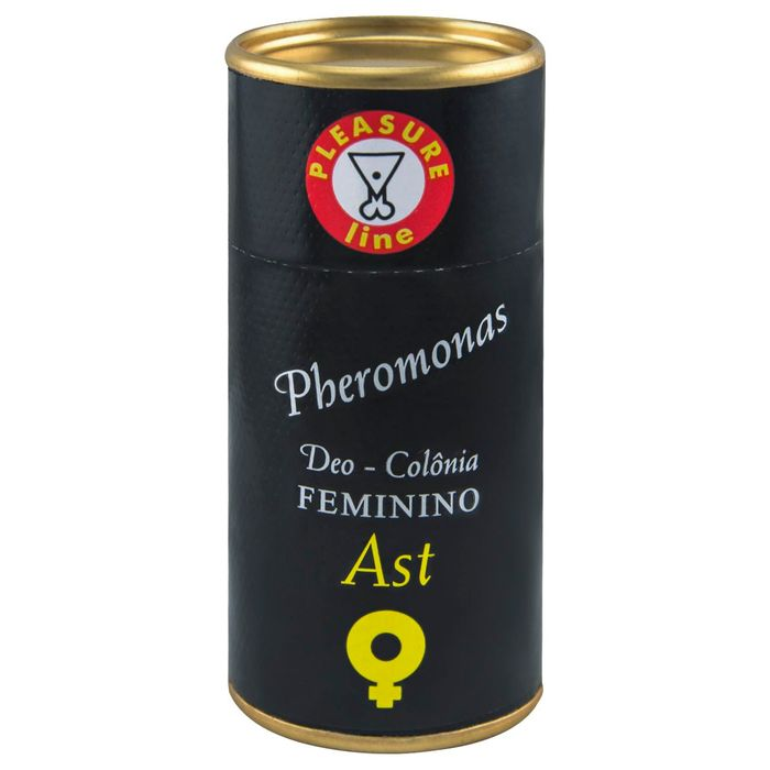AST DEO COLÔNIA FEMININA PHEROMONAS 20ML PLEASURE LINE
