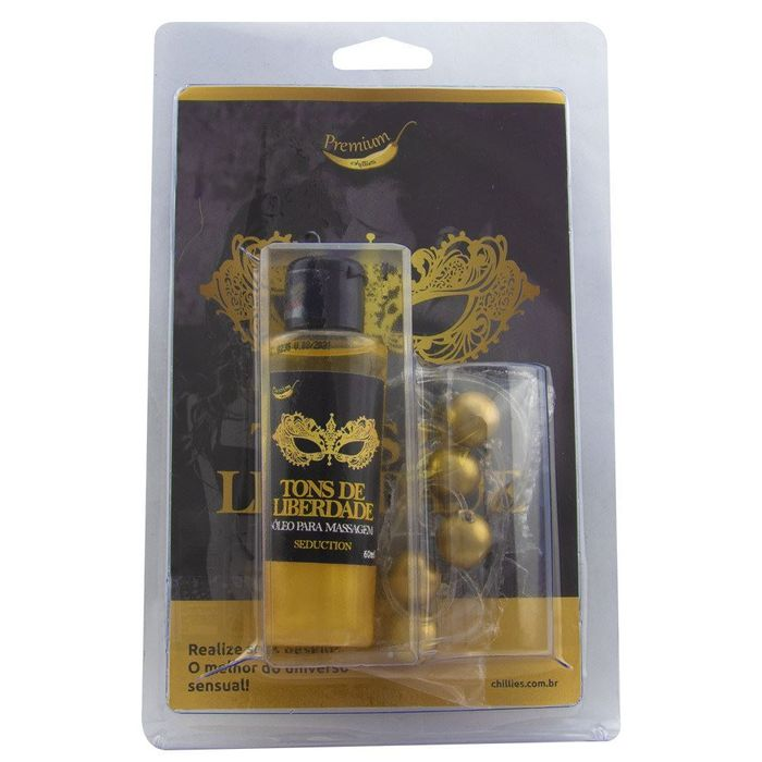 KIT TAILANDÊS TONS DE LIBERDADE SEDUCTION GOLD CHILLIES