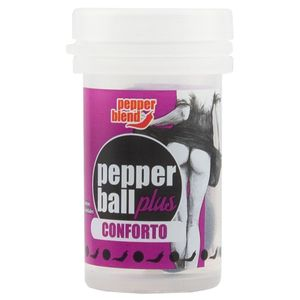 Pack 10 Unidades Pepper Ball Plus Conforto Anal 3,2ml Pepper Blend