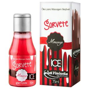 GEL BEIJÁVEL SORVETE ICE 35ML LA PIMIENTA