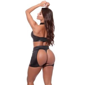 CONJUNTO TOP DOMINATRIXXX