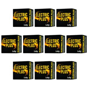 PACK 10 UNIDADES ELETRIC PLUS LUBY 4G SOFT LOVE