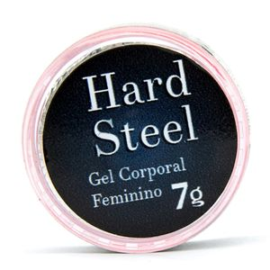 Hard Steel Super Excitante Feminino 7g Garji