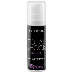 Total Shock Gel Eletrizante Neutro 15g Feitiços