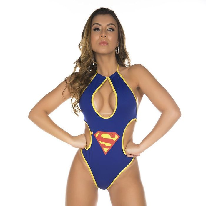 Mini Body Supergirl Pimenta Sexy