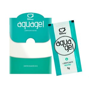 SACHÊ AQUAGEL NEUTRO 5ML SEXY FANTASY