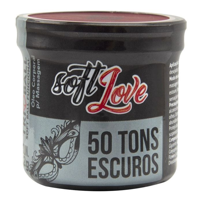 SOFT BALL TRIBALL 50 TONS ESCURO 12G 03 UNIDADES SOFT LOVE