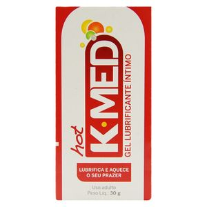 K-MED HOT GEL LUBRIFICANTE ÍNTIMA 30ML CIMED