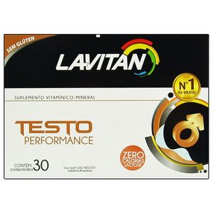 TESTO PERFORMANCE  30 COMPRIMIDOS CIMED