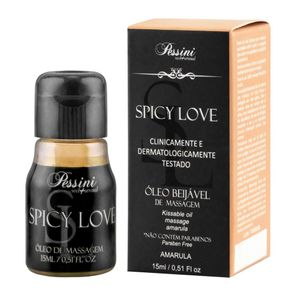 SPICY LOVE GEL COMESTÍVEL 15ML PESSINI