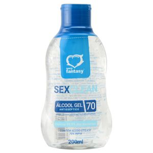 ÁLCOOL GEL 70% SEX CLEAN SEXY FANTASY