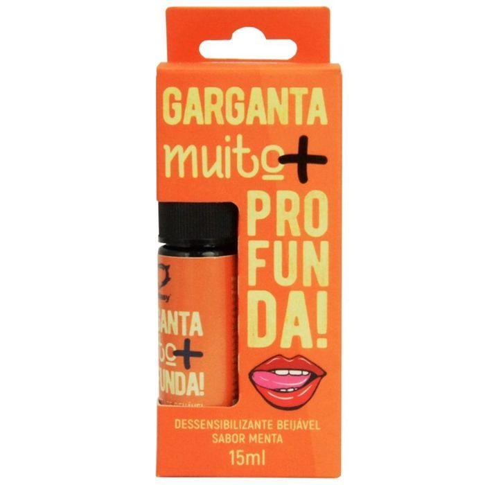 Garganta Profunda Spray 15ml Sexy Fantasy