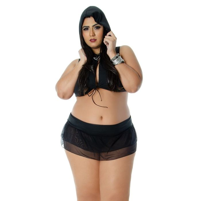 Kit Fantasia Bandida Plus Size Sapeka