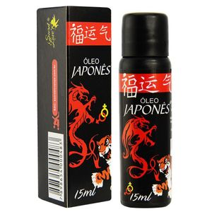 óleo Japonês Excitante Hot 15ml Secret Love