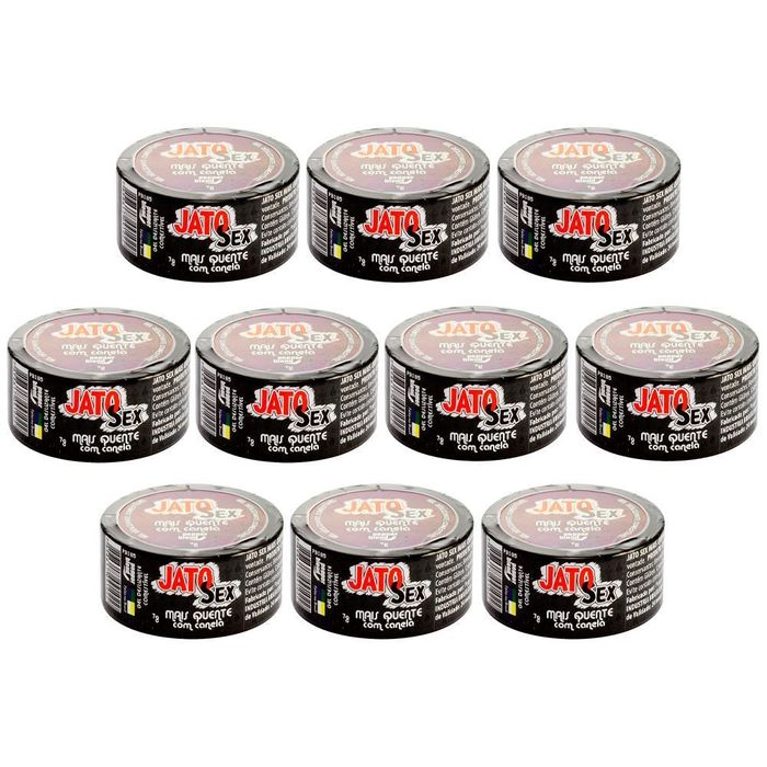 Pack 10 Unidades Jato Sex Hot Dragon Gel 7g Pepper Blend