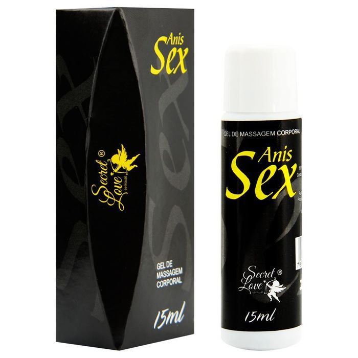 Anis Sex Gel Facilitador Anal 15ml Secret Love