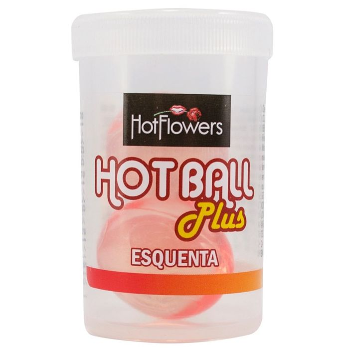 Hot Ball Bolinha Esquenta 04g Hot Flowers