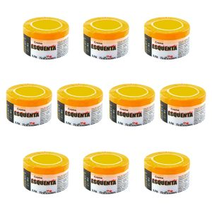 PACK 10 UNIDADES CREME ESQUENTA 3,5G HOT FLOWERS