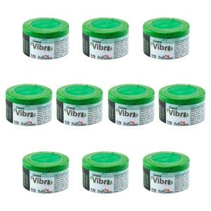 PACK 10 UNIDADES CREME VIBRA 3,5G HOT FLOWERS