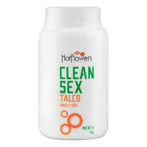 TALCO CLEAN SEX LINHA CYBER 40G HOT FLOWERS