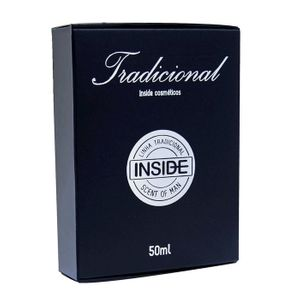 Perfume Masculino Black 50ml - Inside