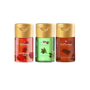 GEL EXCITANTE BEIJÁVEL C/ AROMAS 15ML HOT FLOWERS