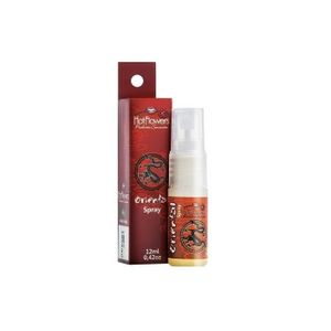 ORIENTAL SPRAY EXCITA E AQUECE 12ML - HOT FLOWERS - HC305