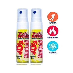 EXCITANTE Spray HOT COLD (Esquenta e Gela) 15ml -PSEX