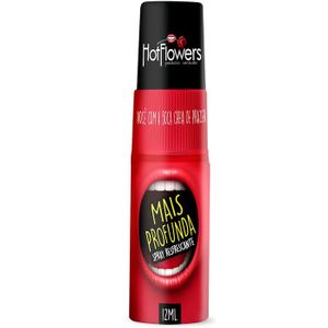 Garganta Mais Profunda Spray 12ml - Hot Flowers