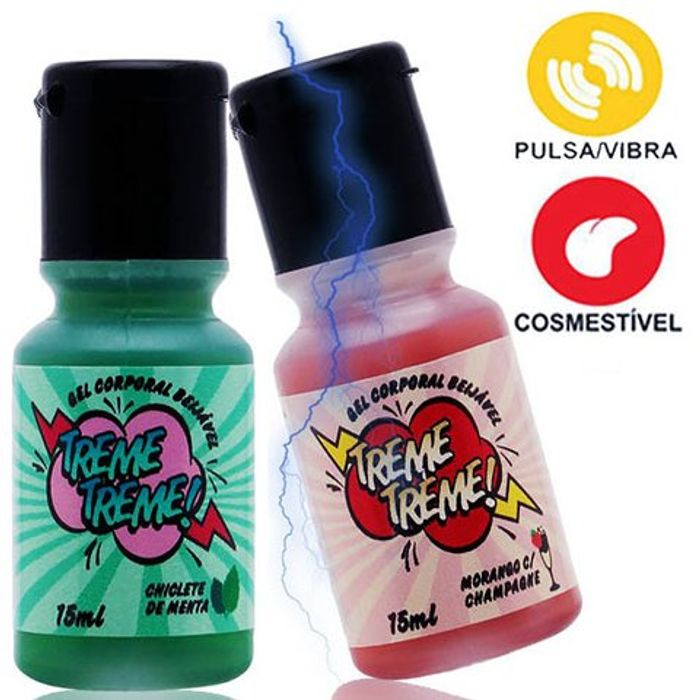 Gel Treme Treme (Aquece e Dá Choque) 15ml - Garji