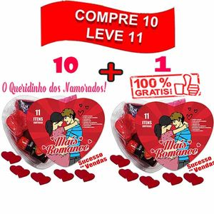 PACK PROMOCIONAL - PAGUE 10 LEVE 11 KITS ROMANCE - JEITO SEXY