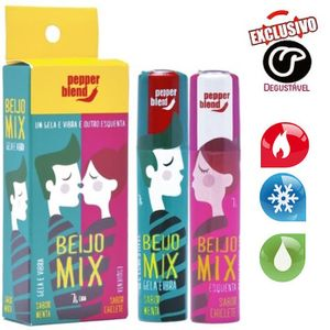 Gel do Beijo Mix Esquenta / Esfria 14G -Pepper Blend
