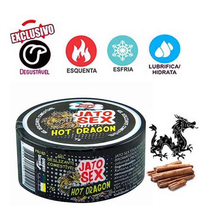 HOT DRAGON POMADA CHINESA 7G -PEPPER BLEND