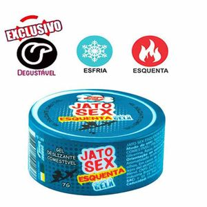 ESQUENTA E GELA GEL EXCITANTE 7G - jato sex Pepepr Blend
