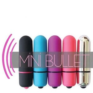 Mini Bullet-Poderoso Vibrador Massageador mv002