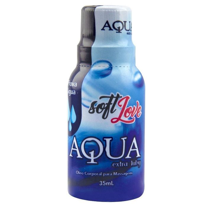 Lubrificante Gel Aqua Extra Luby 35ml - Soft Love