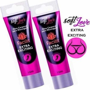 FACILIT EXTRA EXCITING BISNAGA 15ML - SOFT LOVE
