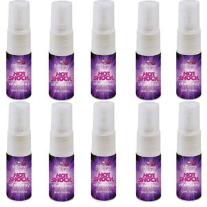 PACKS 10 / Hot Shock Vibrador Viber Spray 12ml Hot Flowers HC303
