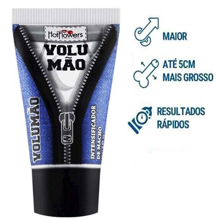 Gel Volumao lubrificante masculino 25G Hot flowers