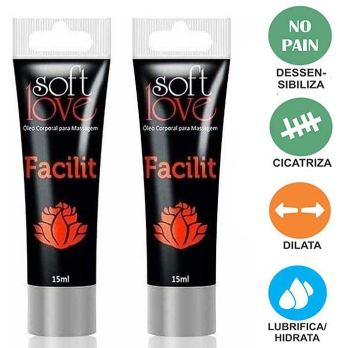 Facilit Bisnaga 15ml - Soft Love