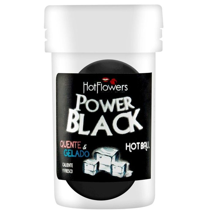 Hot Ball Power Black - Hot Flowers