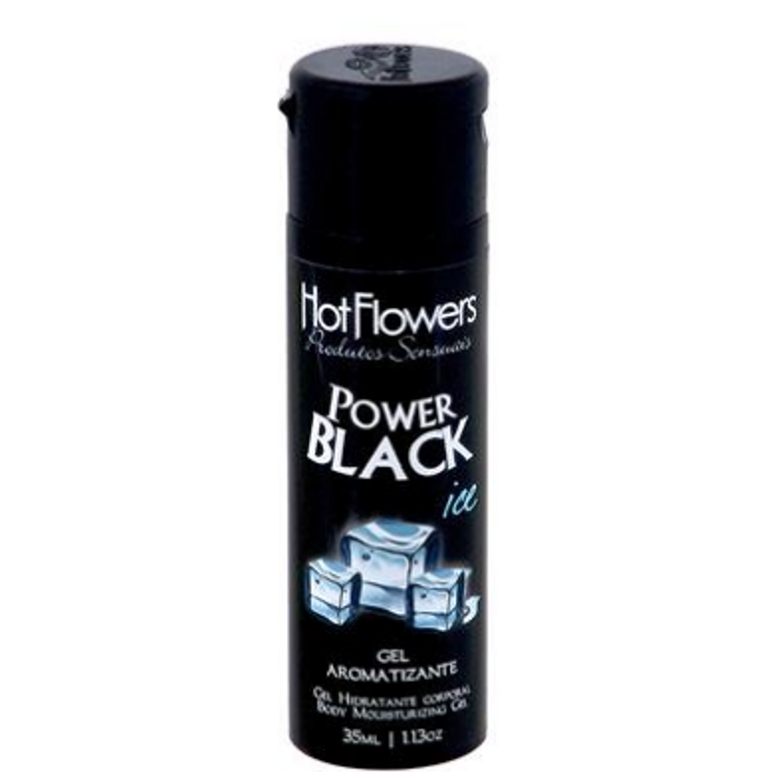 Power Black ICE ( Aromatizante Anti-Séptico Bucal Extra Forte ) 35ml Hot Flowers