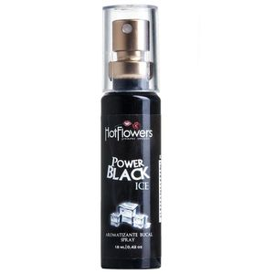 SPRAY BUCAL POWER BLACK ICE 18 ML - HC380 - HOT FLOWERS