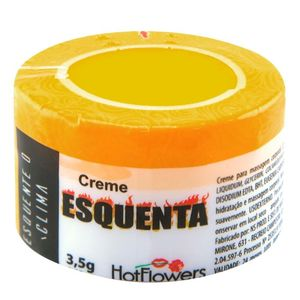 ESQUENTA CREME FUNCIONAL 3,5G - HOT FLOWERS